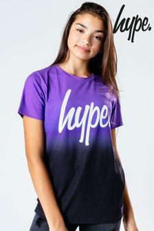 Hype. T-Shirt mit Farbverlauf