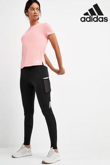adidas Black Alphaskin Leggings