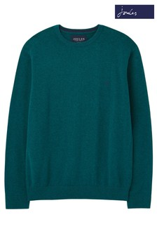 Joules Green Jarvis Crew Neck Jumper