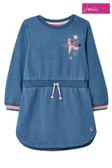 Joules Blue Millie Sweatshirt Dress