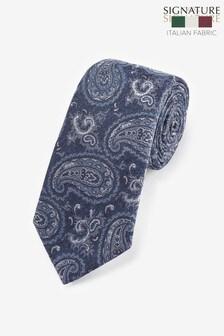 Cravată din mătase Paisley Signature 'Made In Italy'