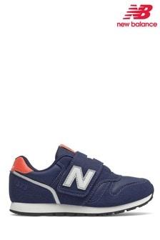 New Balance 373 Velcro Strap Junior Trainers