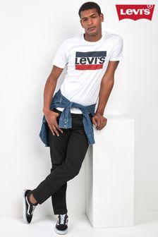 Levi's® White Sports Logo Graphic Tee