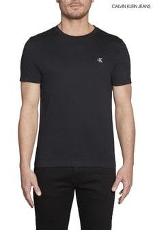 Calvin Klein Jeans Black Essential Logo Slim Fit T-Shirt
