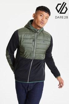 Dare 2b Green Narrative Full Zip Hybrid Jacket