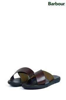 Barbour® Olive Adam Sandals