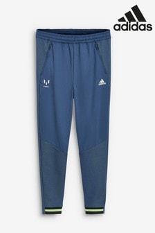 adidas Navy Messi Joggers