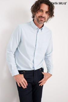 White Stuff Blue Beaumont Oxford Shirt