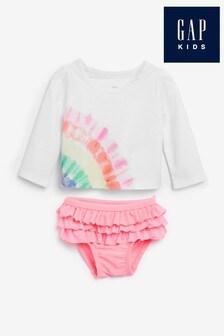Gap Baby Rainbow Two Piece Swimsuit