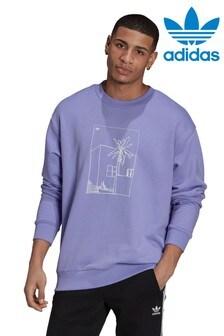 adidas Originals棕櫚樹夏季運動衫