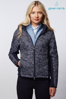 Green Lamb Navy Karina Padded Jacket