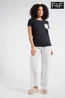 F&F Black Pyjamas