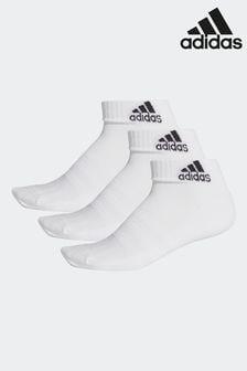 adidas成人短襪三雙裝
