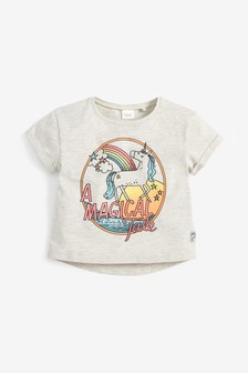 Tričko s motívom jednorožcov (3 mes. – 7 rok.)