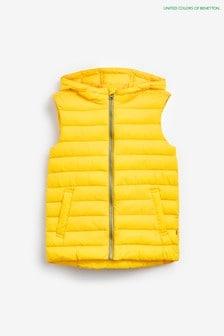 Benetton Yellow Gilet
