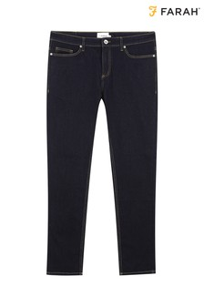 Farah Blue Daubeney Stretch Den Jeans