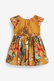 Платье для выпускного с цветочным рисунком  (3 мес.-7 лет)