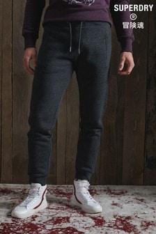 מכנסי טרנינג קלאסיים של Superdry באפור כהה
