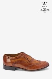 Chaussures Richelieu Oxford en cuir