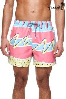 מכנסי שחייה קצרים באורך בינוני של Boardies דגם Fresh Prince