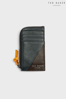 Ted Baker Mars Coloured Leather Zip-Around Bifold Wallet