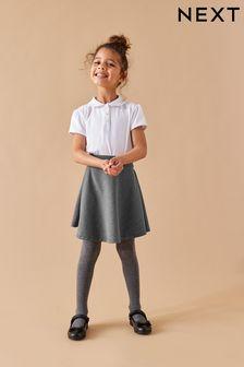 Короткая расклешенная юбка (3-16 лет)
