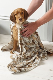 Dog Print Towel