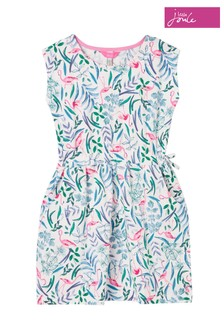 Joules Green Jude Raglan Sleeve Dress