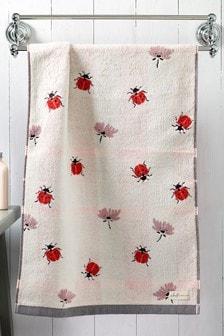 Natural Ladybird Towel