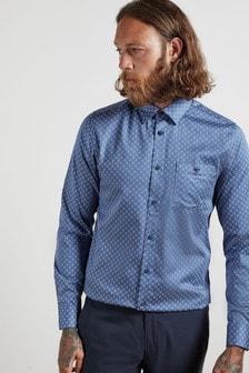 Ted Baker Croissy Hemd mit geometrischem Blumenmuster