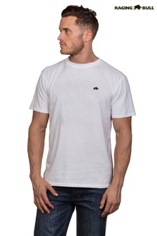 Raging Bull White Signature T-Shirt