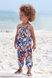 Jungle Print Playsuit (3mths-7yrs)