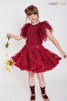 Angel's Face Red Pixie Tutu Skirt