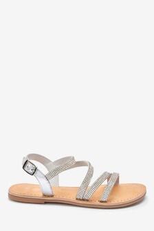 Heatseal Strappy Sandals (Older)