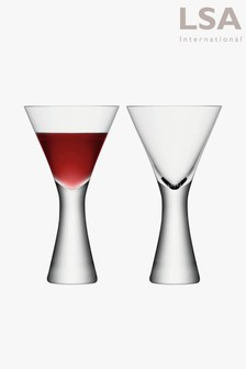 Set of 2 LSA International Moya Wine Glasses