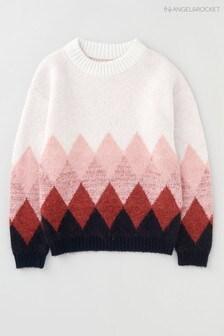 Angel & Rocket Pink Diamond Knit Jumper