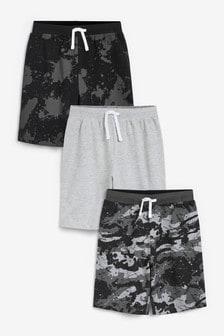 Набор пижамных шорт (3 шт.) (3-16 лет)
