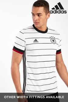 Camiseta blanca de la primera equipación de Alemania de adidas