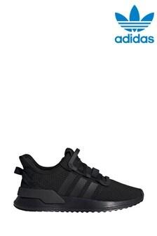 Черные кроссовки для подростков adidas Originals U_Path