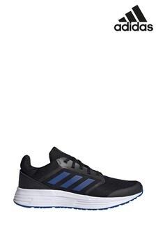 Черные/синие кроссовки для бега adidas Galaxy 5