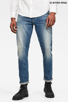 G-Star Blue Straight Tapered Jeans