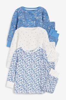 3 Pack Snuggle Pyjamas (9mths-12yrs)