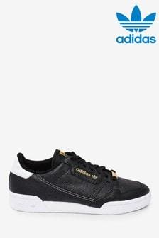 נעליספורטדגםContinental80 בשחור/זהב שלadidasOriginals