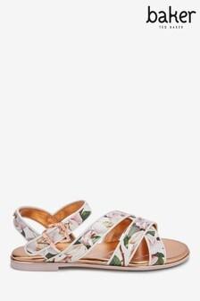 Baker By Ted Baker Floral Sandals
