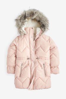 Водоотталкивающее дутое пальто (3-16 лет)