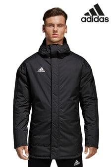 Черная куртка adidas 18