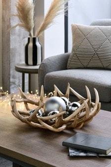 Plateau décoratif XL bois de cerf