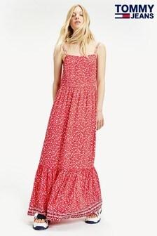 Rochie maxi cu imprimeu floral Tommy Jeans