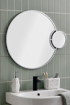 Standard and Magnifying Dual Wall Mirror