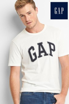 Gap kurzärmeliges T-Shirt, Weiß